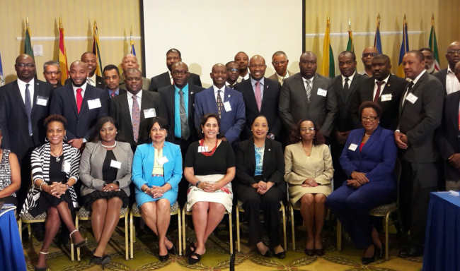 CARICOM member countries seek to join the Parliamentary Front Against Hunger