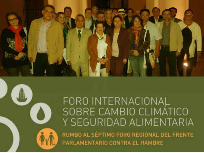 Foro Internacional sobre Cambio Climático y Seguridad Alimentaria
